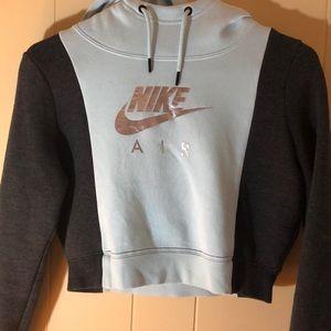 Nike crop hoodie